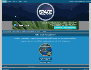 spacesports.eu screenshot