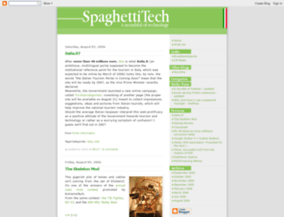 spaghettitech.blogspot.fr screenshot