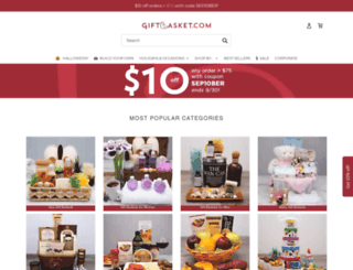spagiftbaskets.com screenshot