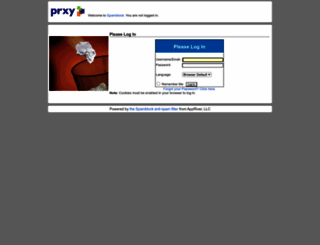 spamblock.prxy.com screenshot