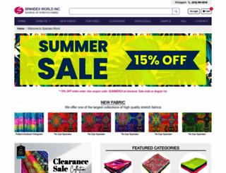 spandexworld.com screenshot