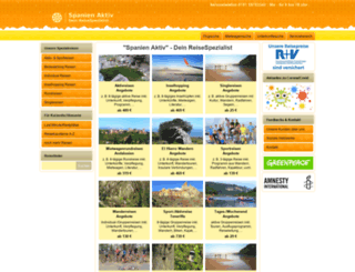 spanien-aktiv.com screenshot