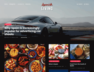 spanish-living.com screenshot