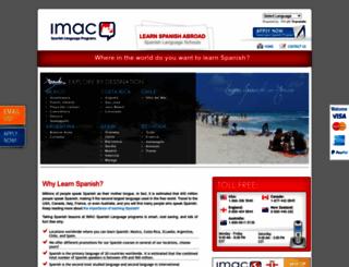spanish-school.com.mx screenshot