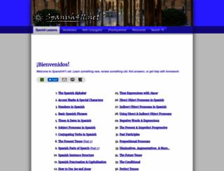 spanish411.net screenshot