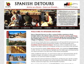 spanishdetours.com screenshot