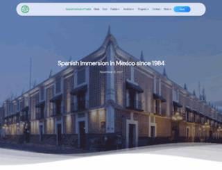 spanishinstitutemexico.com screenshot