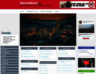 spanje.openstart.nl screenshot