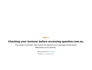 spanline.com.au screenshot