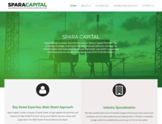 sparacapital.com screenshot