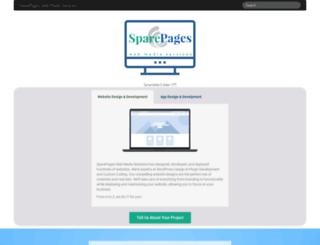 sparepages.com screenshot