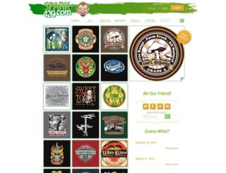 spark420.com screenshot