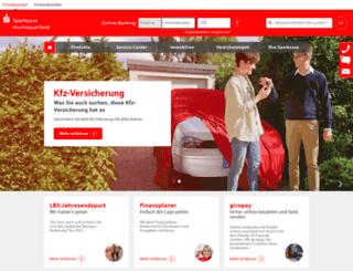 sparkasse-hochsauerland.de screenshot
