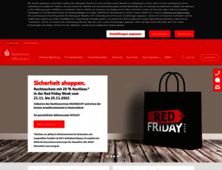 sparkasse-offenbach.de screenshot