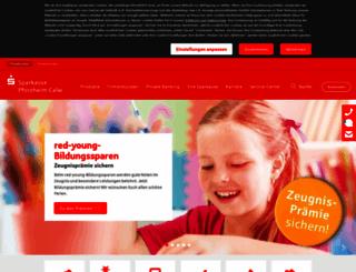 sparkasse-pforzheim-calw.de screenshot