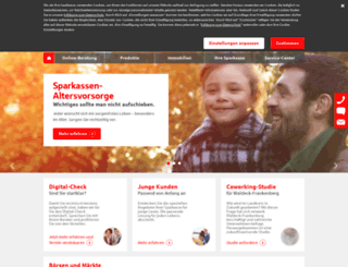 sparkasse-wa-fkb.de screenshot