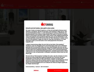 sparkassenversicherung.de screenshot