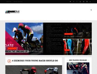 sparkbmxtraining.com screenshot