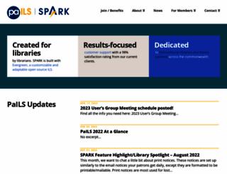 sparkpa.org screenshot