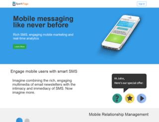 sparkpage.com screenshot