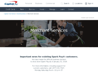 sparkpay.com screenshot
