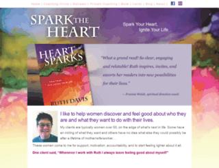sparktheheart.com screenshot