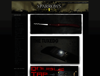 sparrowslockpicks.com screenshot