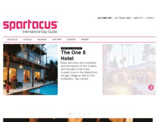 spartacusworld.com screenshot