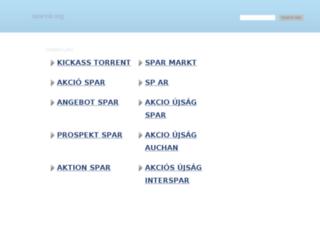 sparvar.org screenshot