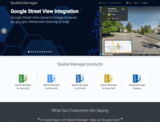 spatialmanager.com screenshot