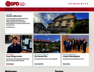 spd-hennef.de screenshot