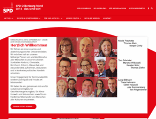 spd-oldenburg-nord.de screenshot