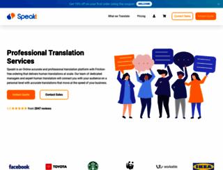 speakt.com screenshot