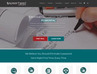 spearhead.com.au screenshot