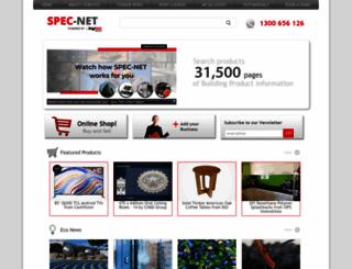 spec-net.com.au screenshot