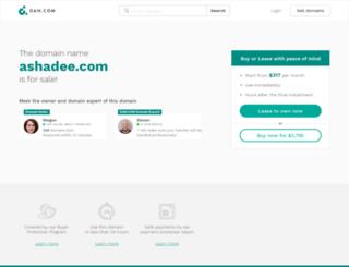 special.ashadee.com screenshot