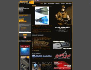 specialfins.com screenshot