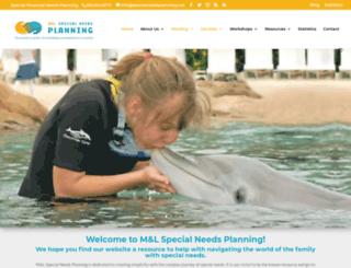 specialneedsplanning.net screenshot