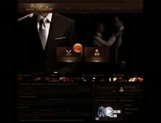 specialtailor.co.uk screenshot