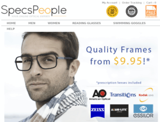 specspeople.com screenshot