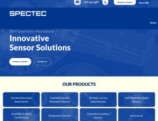 spectecsensors.com screenshot