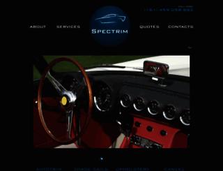 spectrim.com.au screenshot
