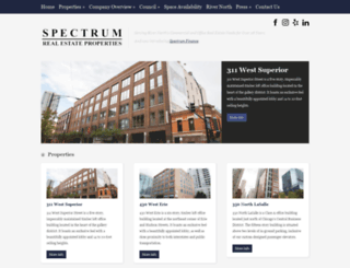 spectrumchicago.com screenshot
