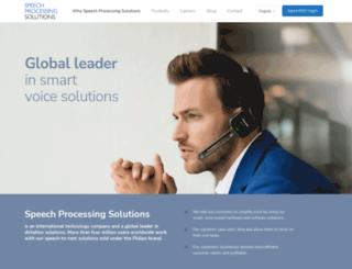 speech.com screenshot