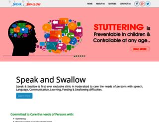 speechnswallow.com screenshot