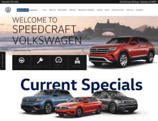 speedcraftvw.com screenshot