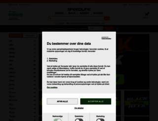 speedline.dk screenshot
