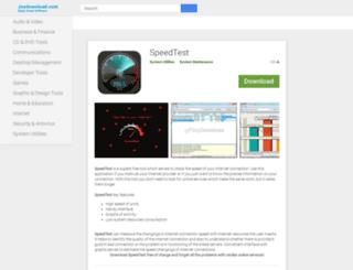 speedtest.joydownload.com screenshot