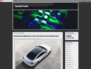speedy-freaks.blogspot.com.br screenshot