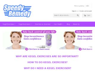 speedyremedy.com screenshot